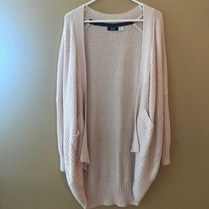 Urban Outfitters Pale Pink Cardigan